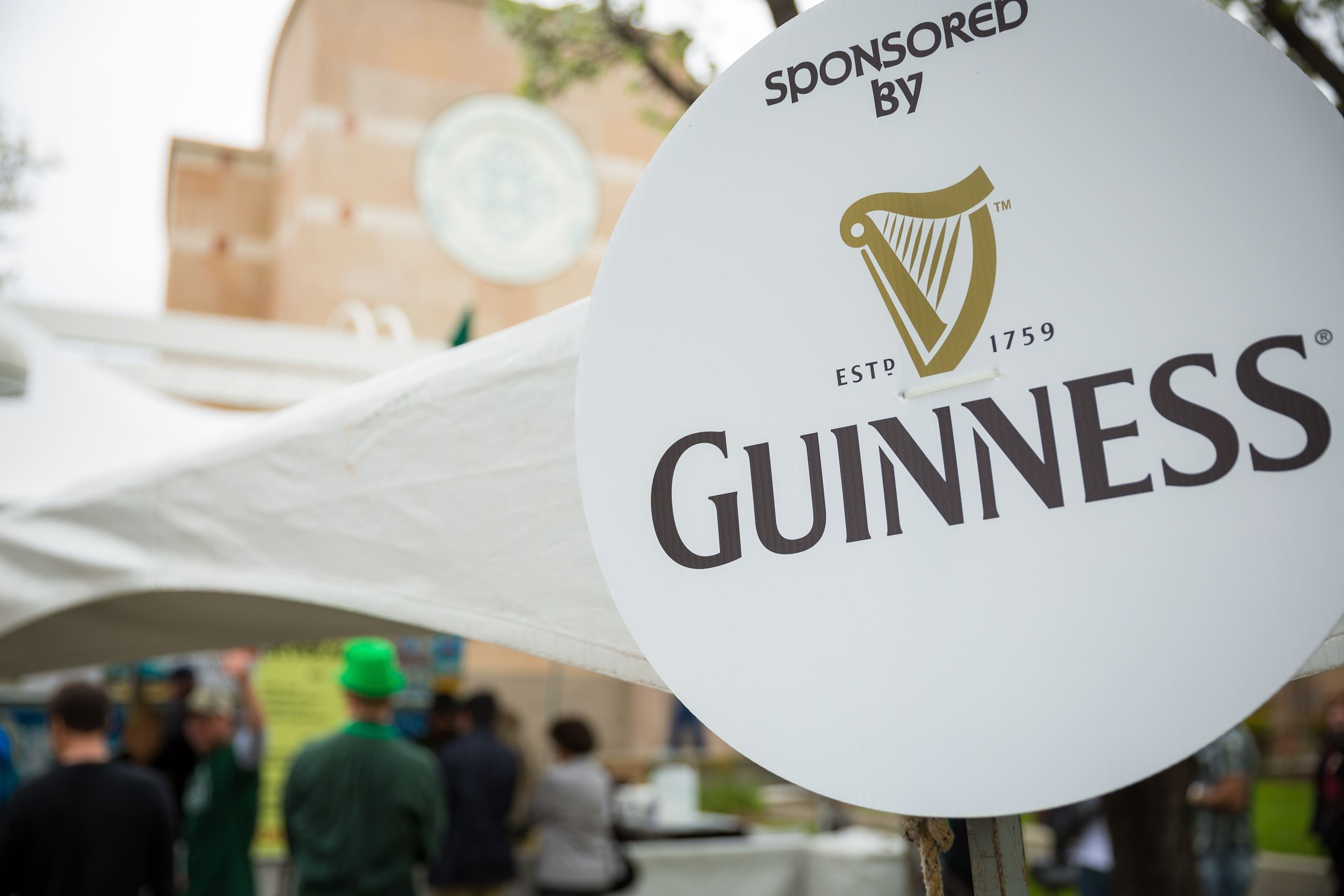 Guinness Beer Booth at St. Pat's