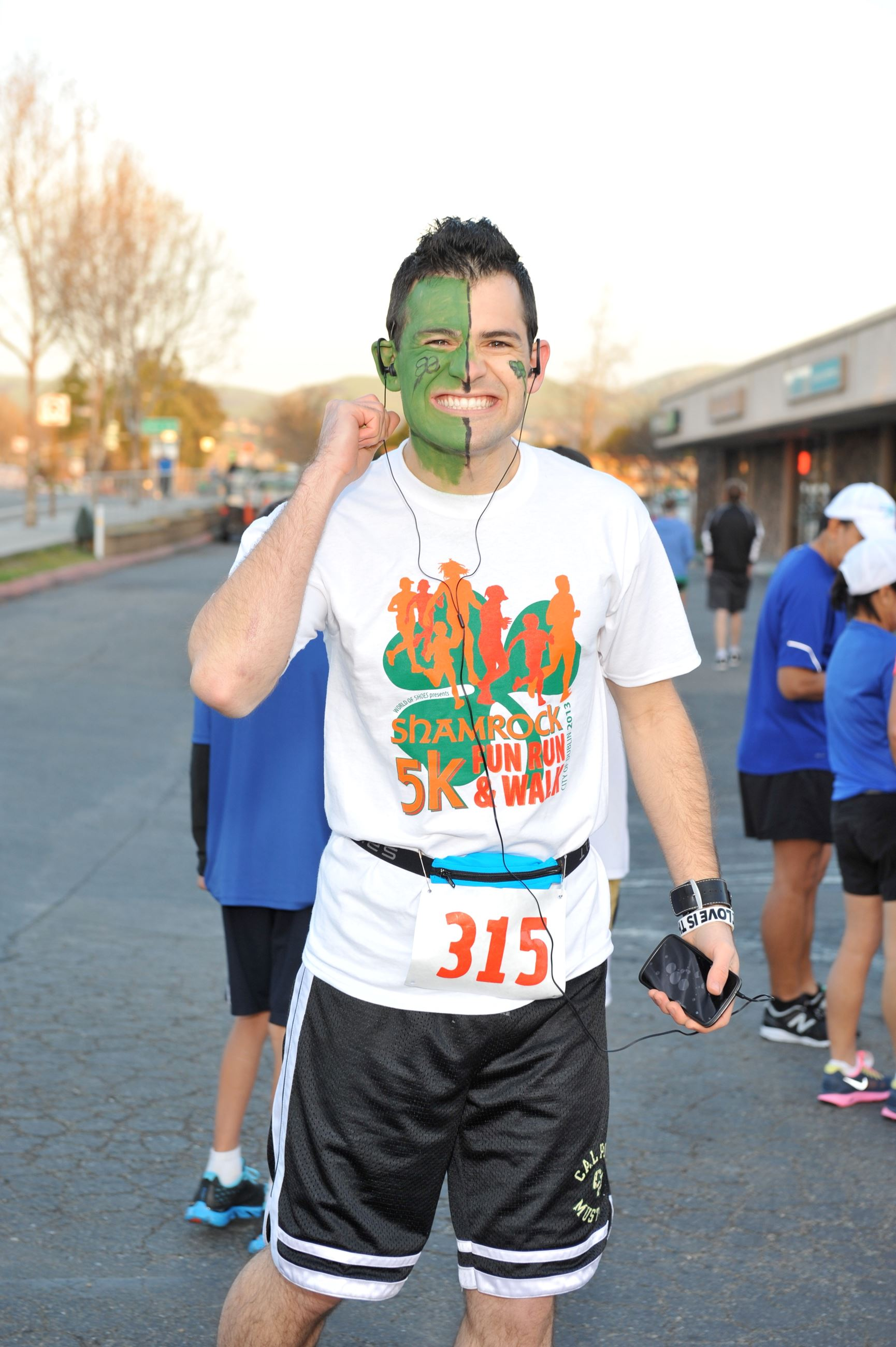 Shamrock 5K Fun Run Participant
