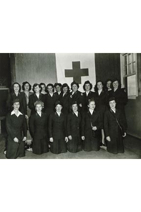 Red Cross Field Assistant Camp Parks Shoemaker Staff c 1943