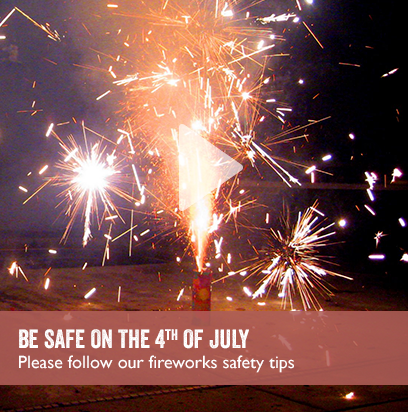 Be Safe on the 4th of July