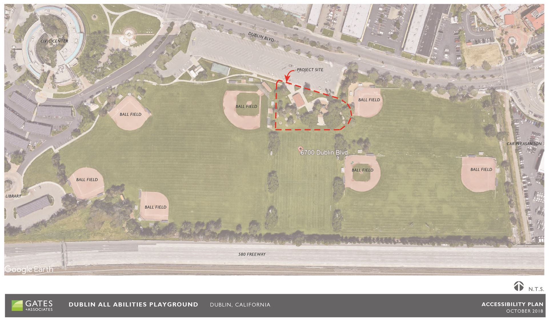 Dublin All-Abilities Playground Site Context