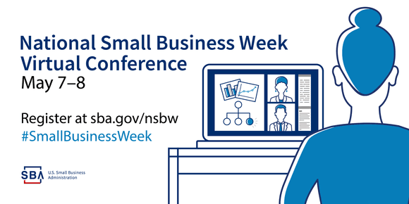 Graphic for SBA Small Business Week Virtual Conference 2019