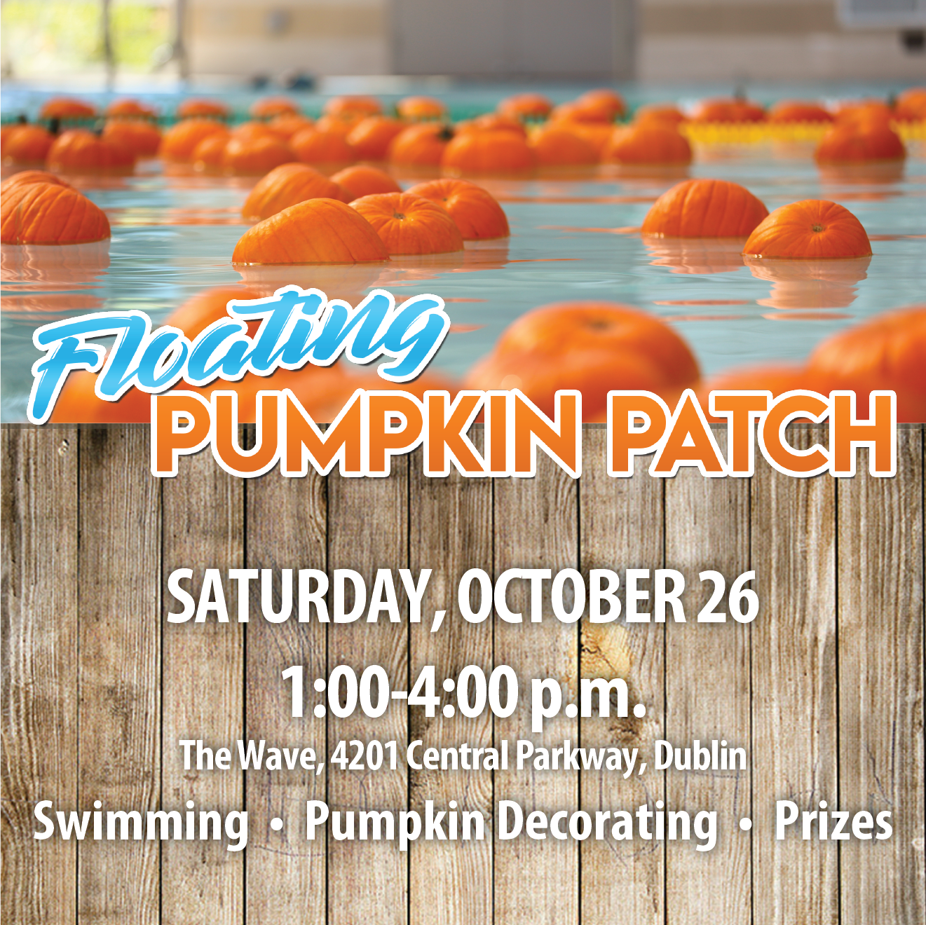 2019 floating pumpkin patch advertisement