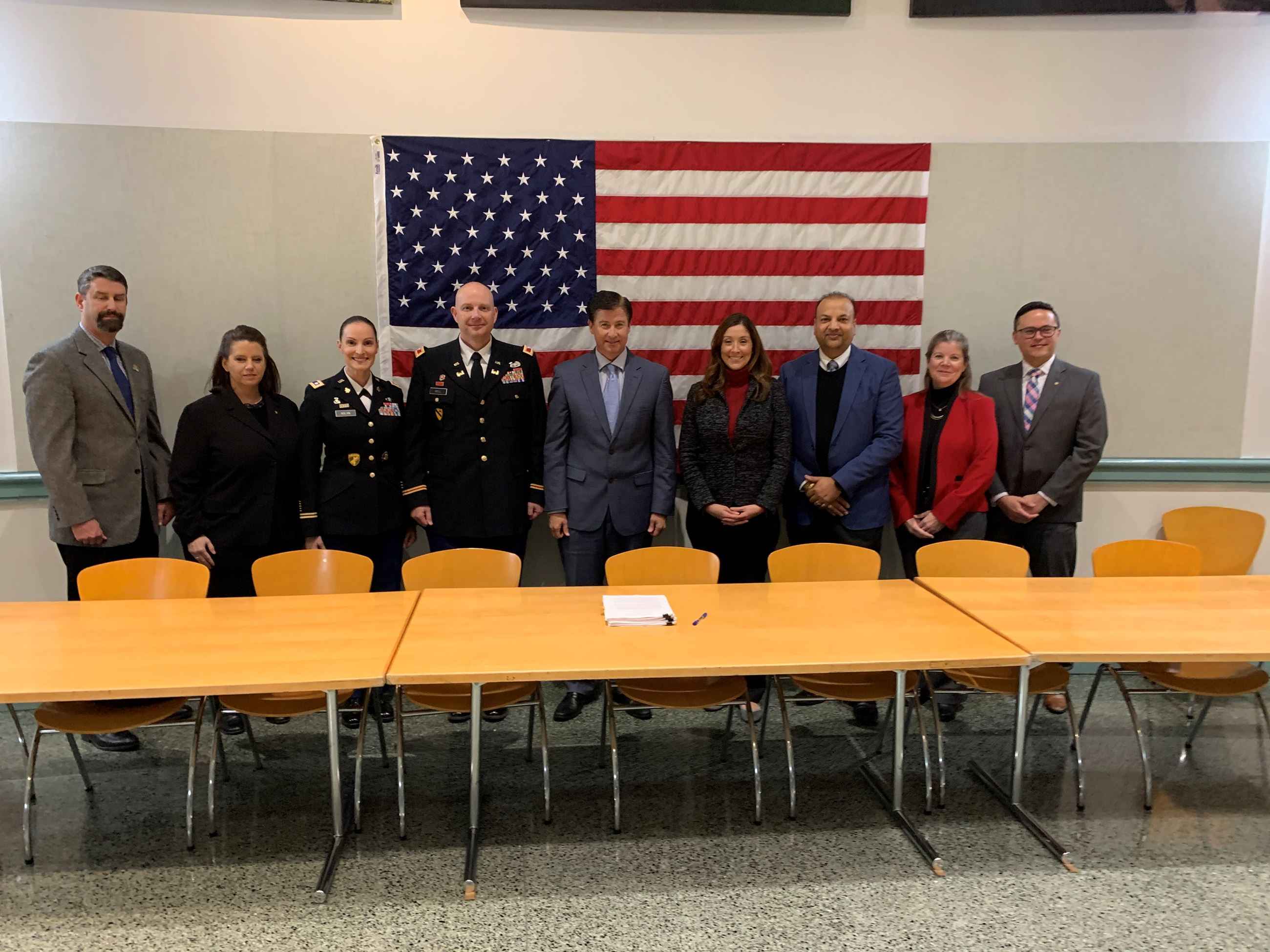 December 3, 2019 - IGSA Signing - Camp Parks Leadership with Dublin City Council