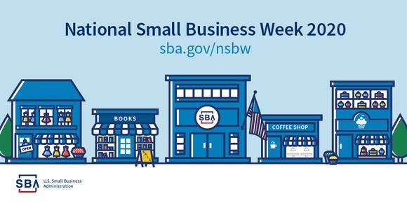 National Small Business Week 2020 logo