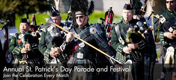 Annual St. Patrick's Day Parade and Festival